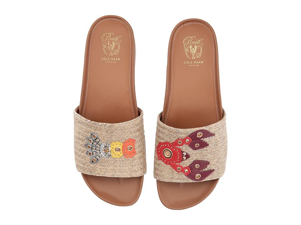 Cole Haan Pinch Lobster Sandal (Aura Orange/Natural) Women