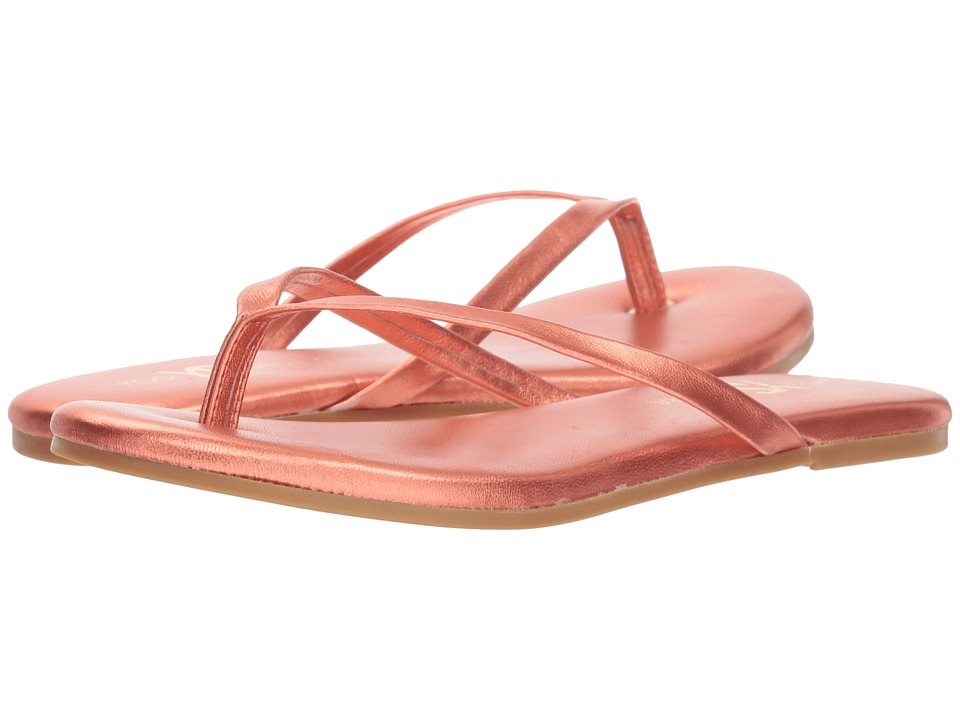 Yosi Samra Rivington (Watermelon Metallic Leather) Flats