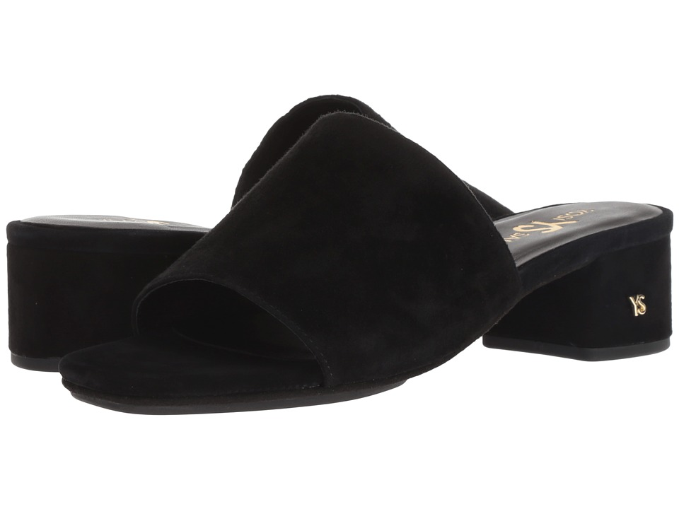 Yosi Samra Drea (Black Suede) Women's Shoes