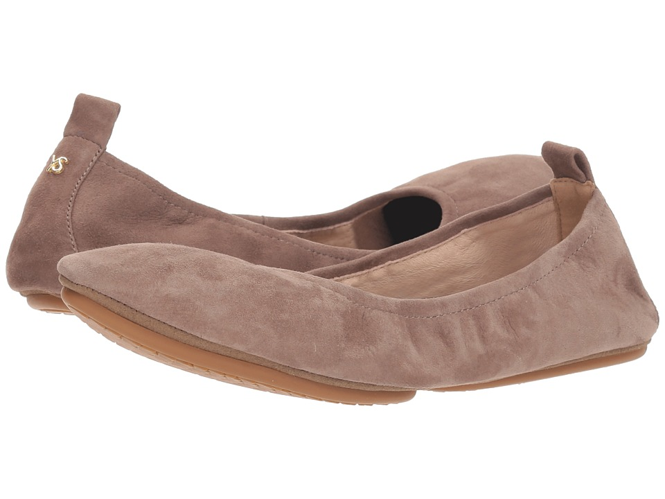 Yosi Samra Vince (Stone Suede) Women's Shoes