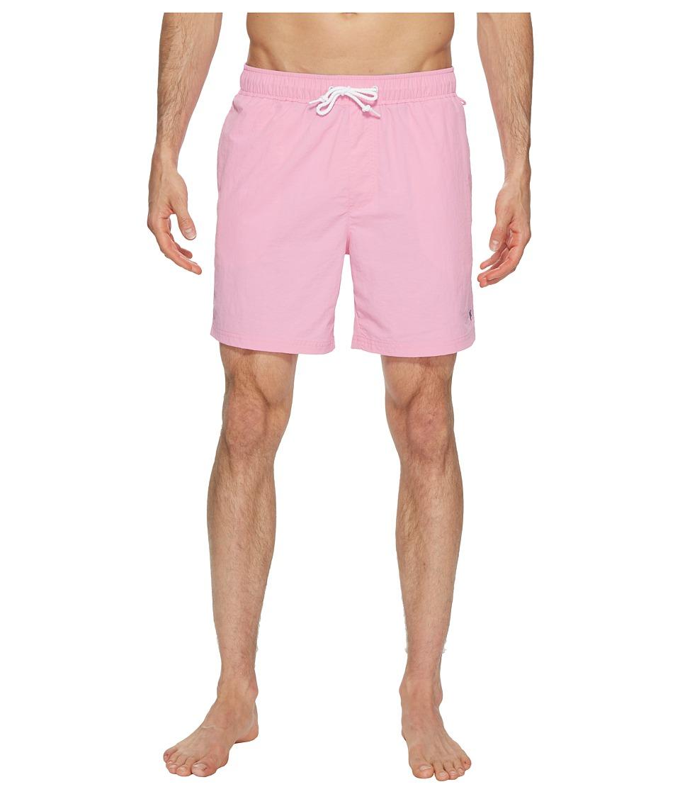 Original Penguin Daddy Swim Trunks (Fuchsia Pink) Men