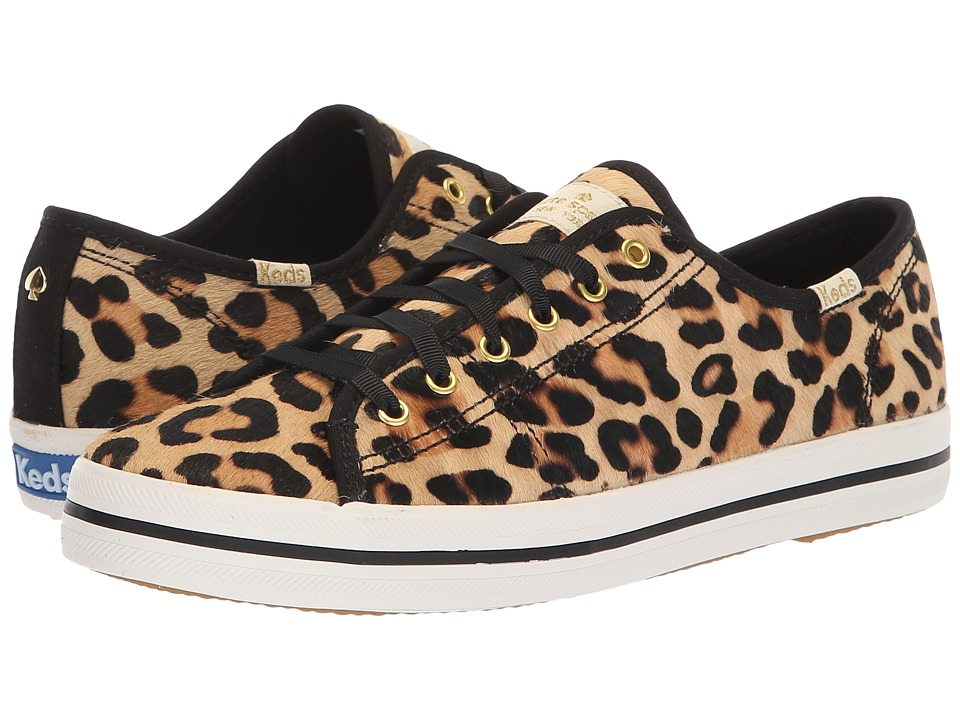 Keds x kate spade new york Kickstart KS Leopard (Tan) Women's Shoes