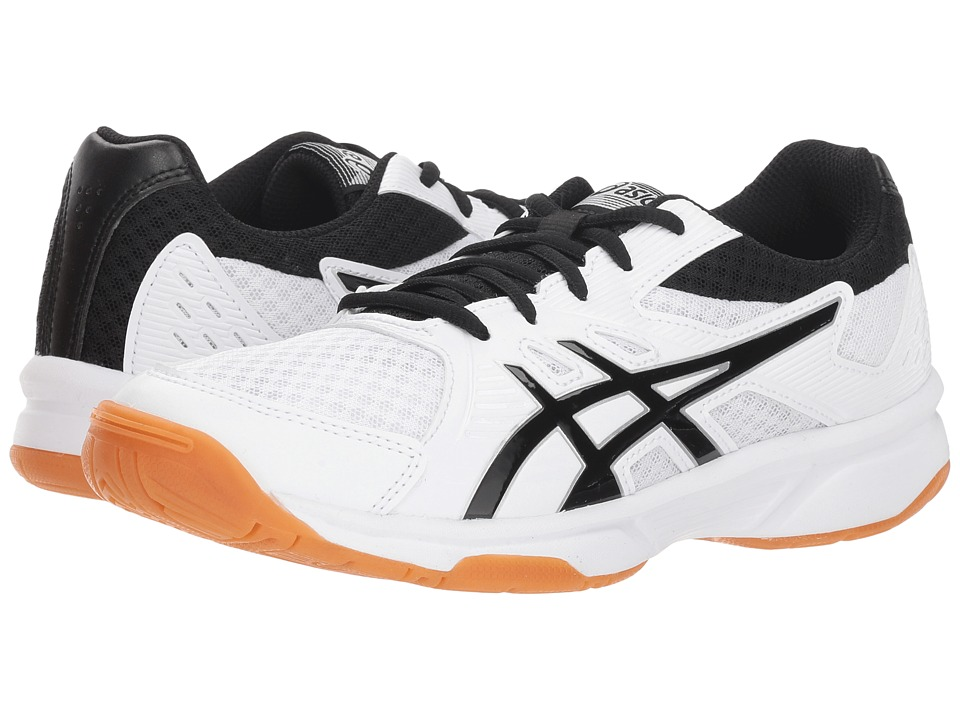 ASICS Gel-Upcourt 3 (White/Black) Women's Volleyball Shoes