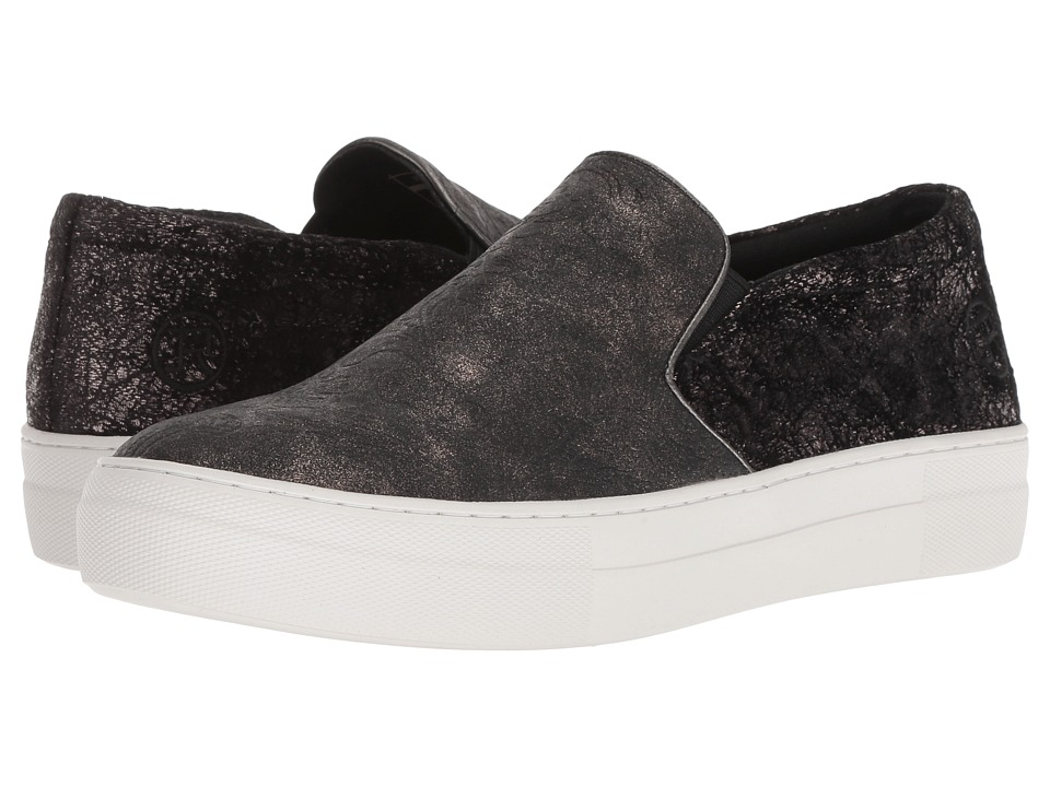 Roper Darcy (Black Metallic Tooled Floral) Slip-On Shoes