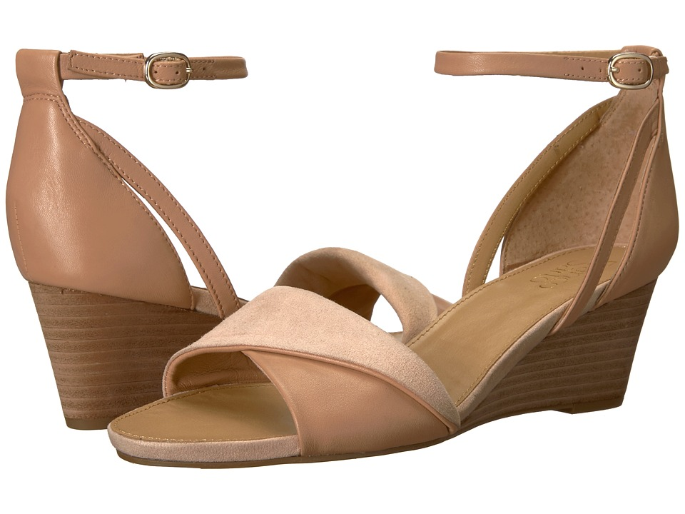 Franco Sarto - Deirdra (Peach Sheep Nappa/Microfiber) Womens Shoes