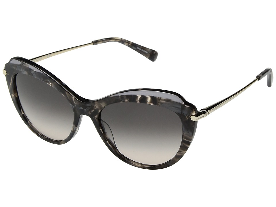 Longchamp - LO617SL (Marble Grey/Grey/Rose) Fashion Sunglasses