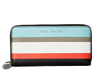 Marc Jacobs Marc Jacobs The Grind Color Blocked Standard Continental Wallet
