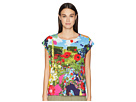 Paul Smith Floral Woven Knit T-Shirt