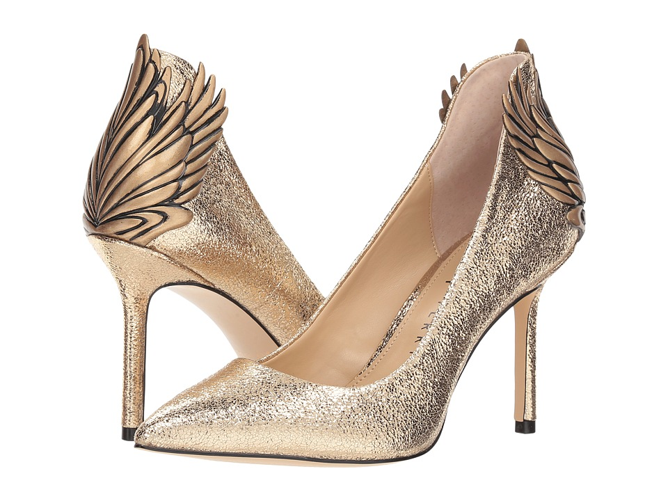 Katy Perry The Starling (Gold Crinkle Metallic) Women's Shoes