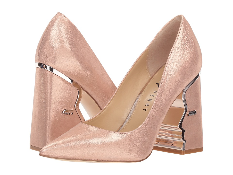 Katy Perry The Celina (Sterling Pink Metallic Nubuck) Women's Shoes