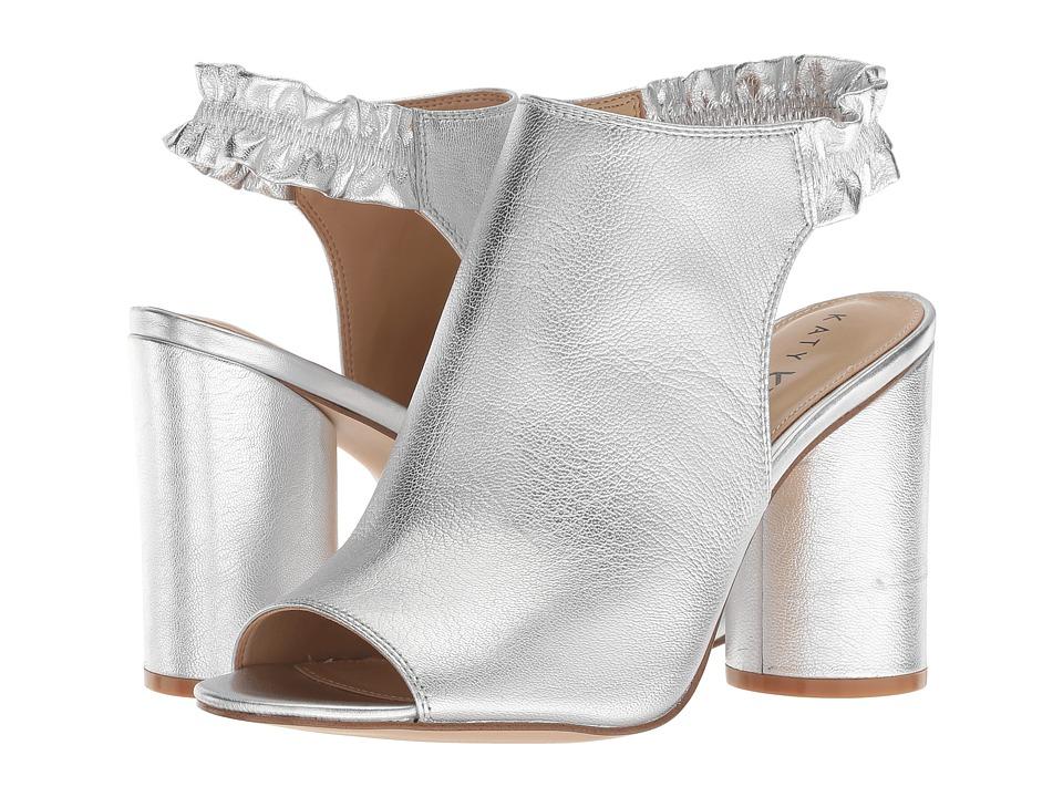 Katy Perry The Jocelyn (Silver Tumbled Metallic) Women's Shoes