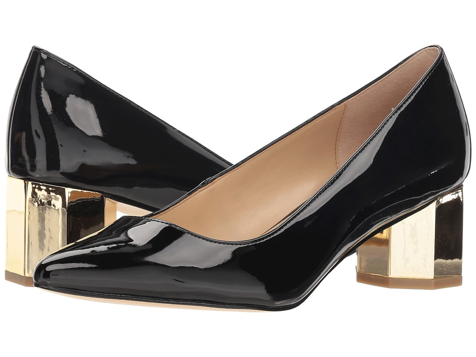 Katy Perry The Lorenna (Black Smooth Patent) Women's Shoes