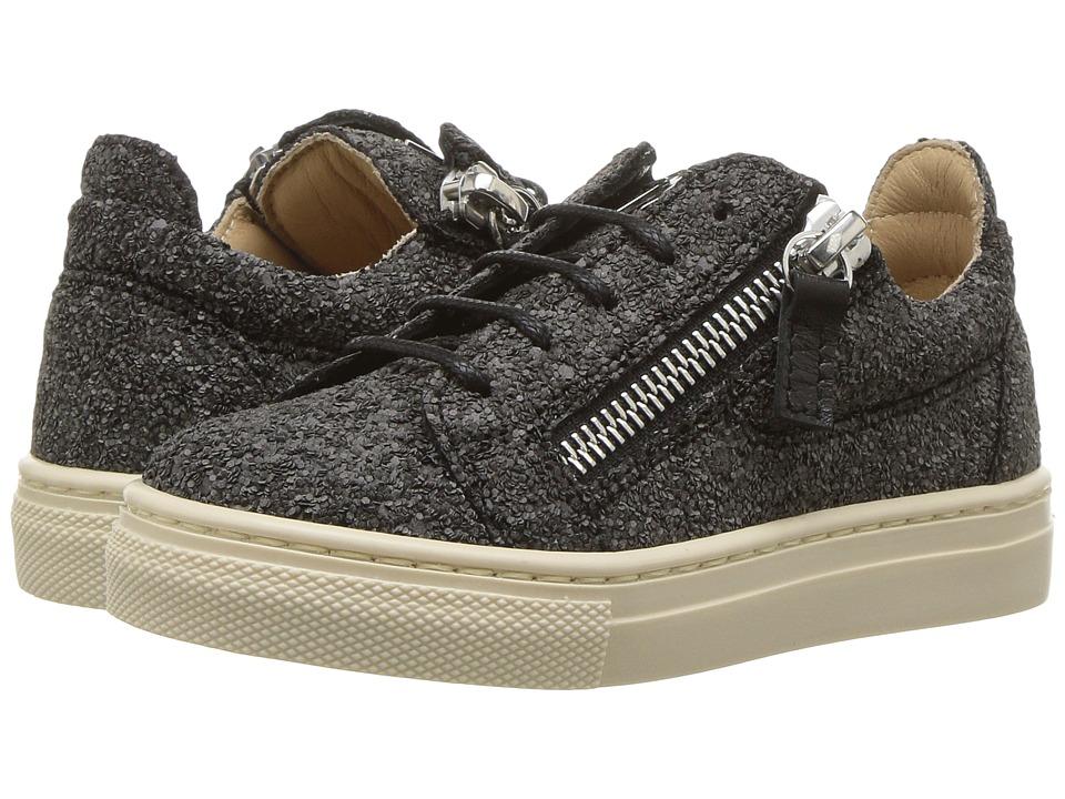 Giuseppe Zanotti Kids - Oldglitt (Toddler) (Black) Kids Shoes