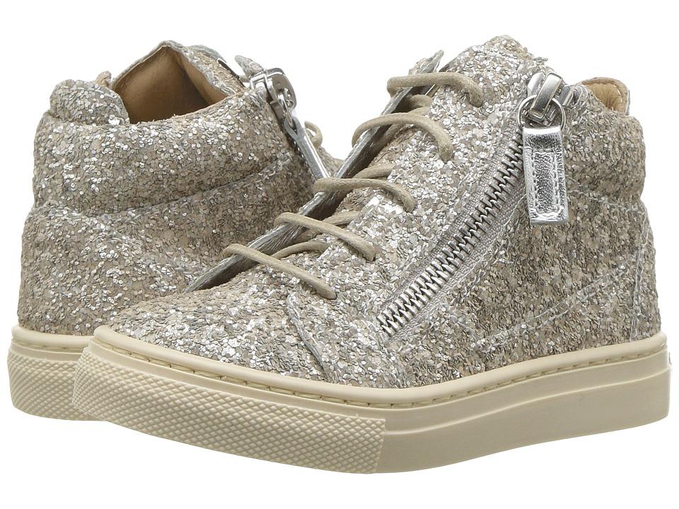 Giuseppe Zanotti Kids - Oldglitt (Toddler) (Champagne) Kids Shoes
