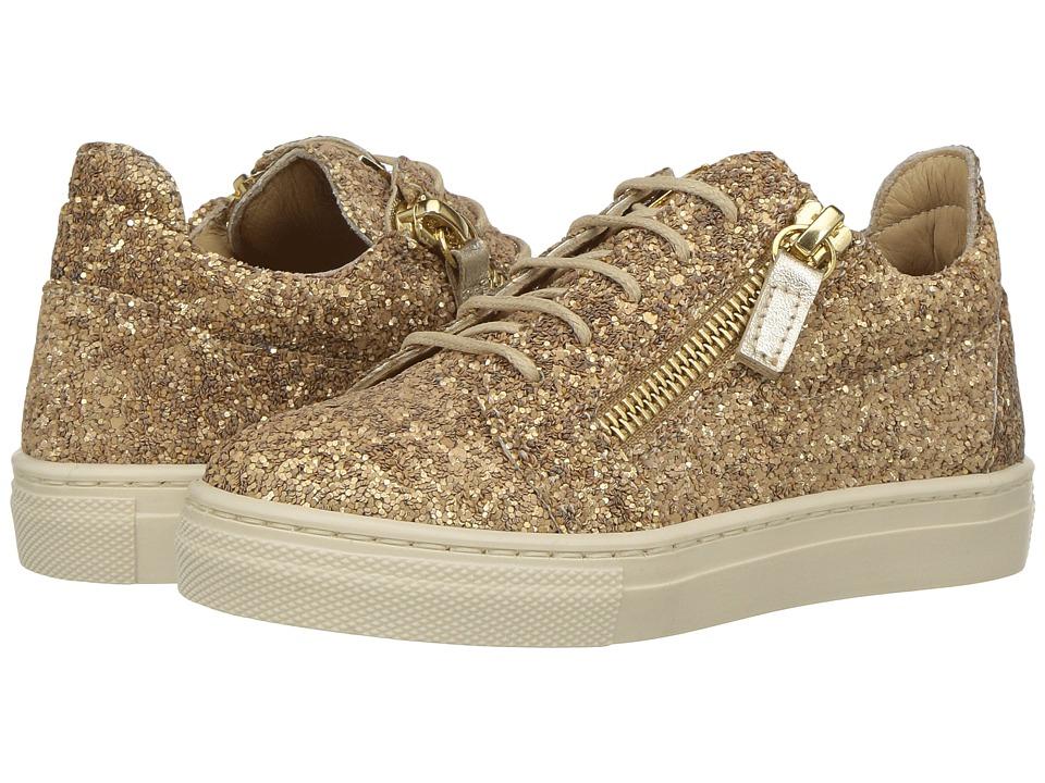 Giuseppe Zanotti Kids - Oldglitt (Toddler/Little Kid) (Sable) Kids Shoes