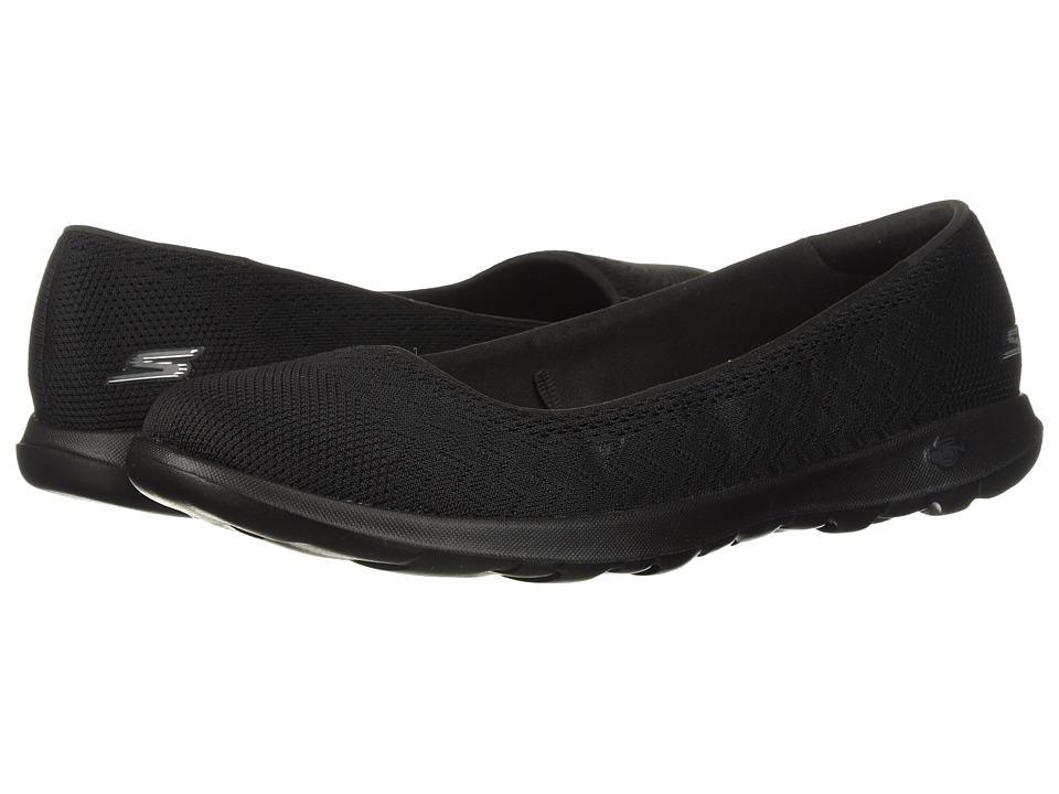SKECHERS Performance - GOwalk Lite - Dreamer Wide (Black) Womens Slip on  Shoes