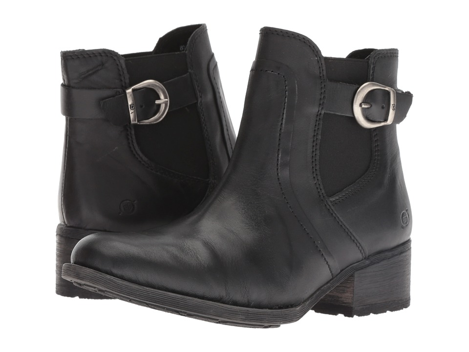 Born Mohan (Black) Women's Pull-on Boots