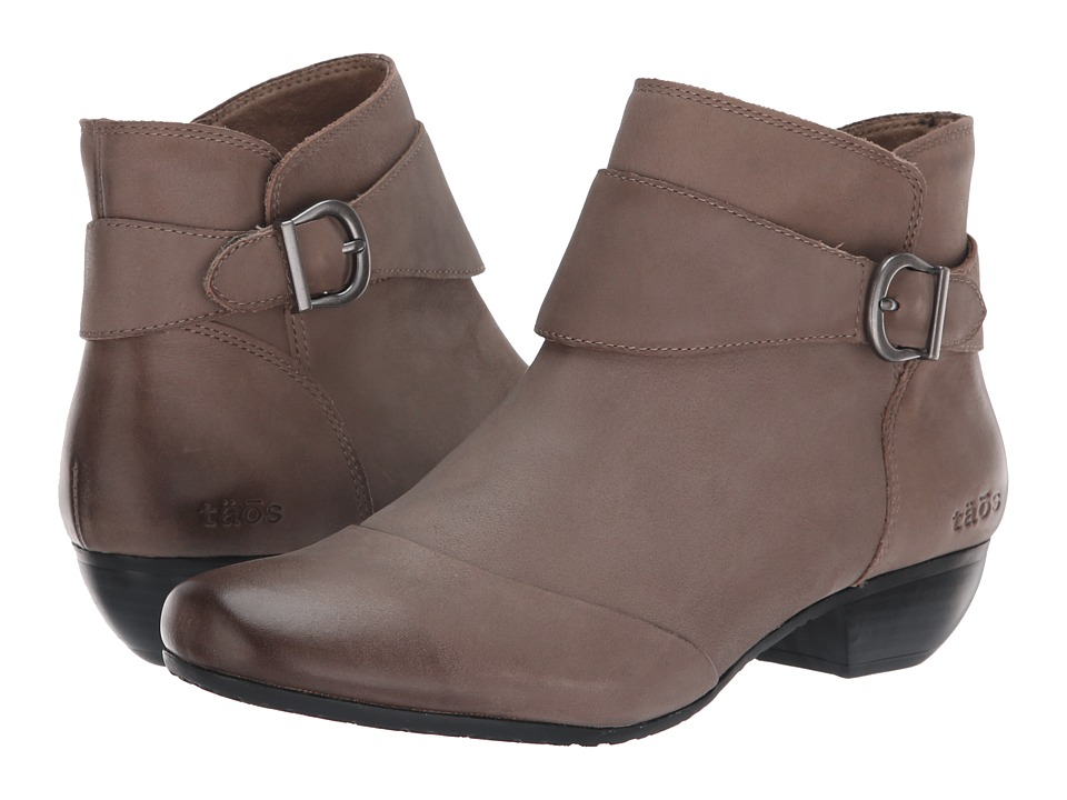 Taos Footwear Addition (Taupe Oiled) Women's Shoes