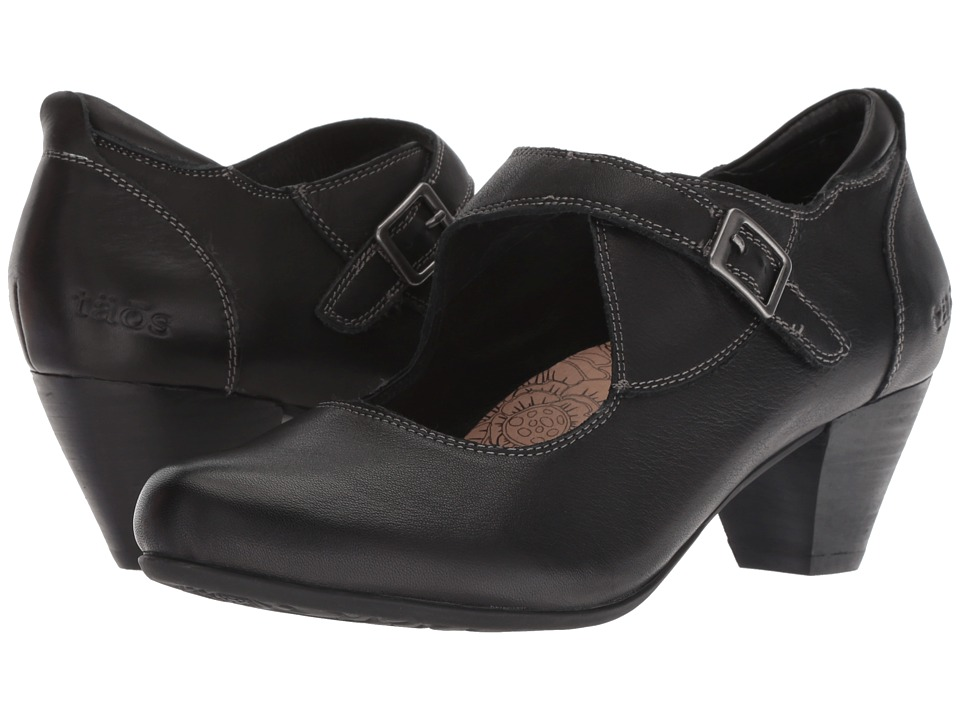 Taos Footwear Studio (Black Leather) Women's Shoes
