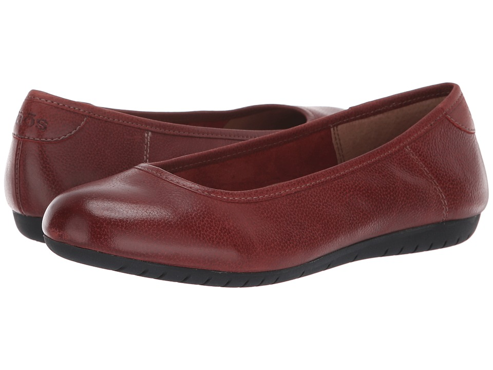 Taos Footwear Rascal (Red Leather) Women's Shoes