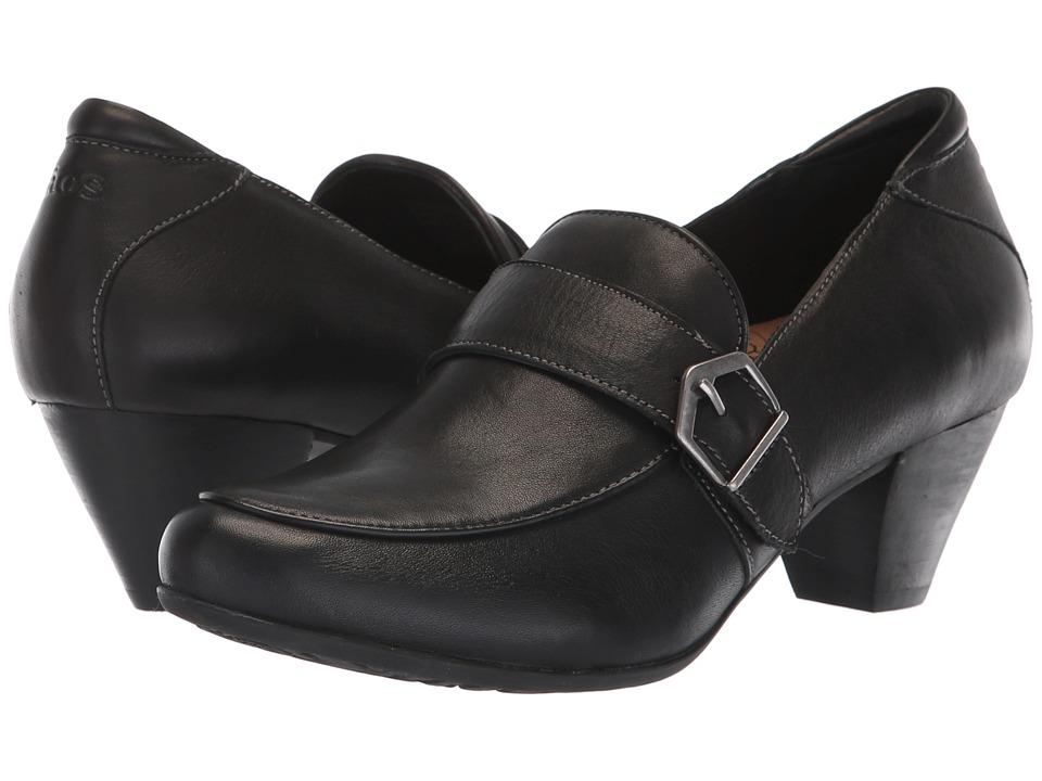 Taos Footwear Troubador (Black Leather) Women's Shoes