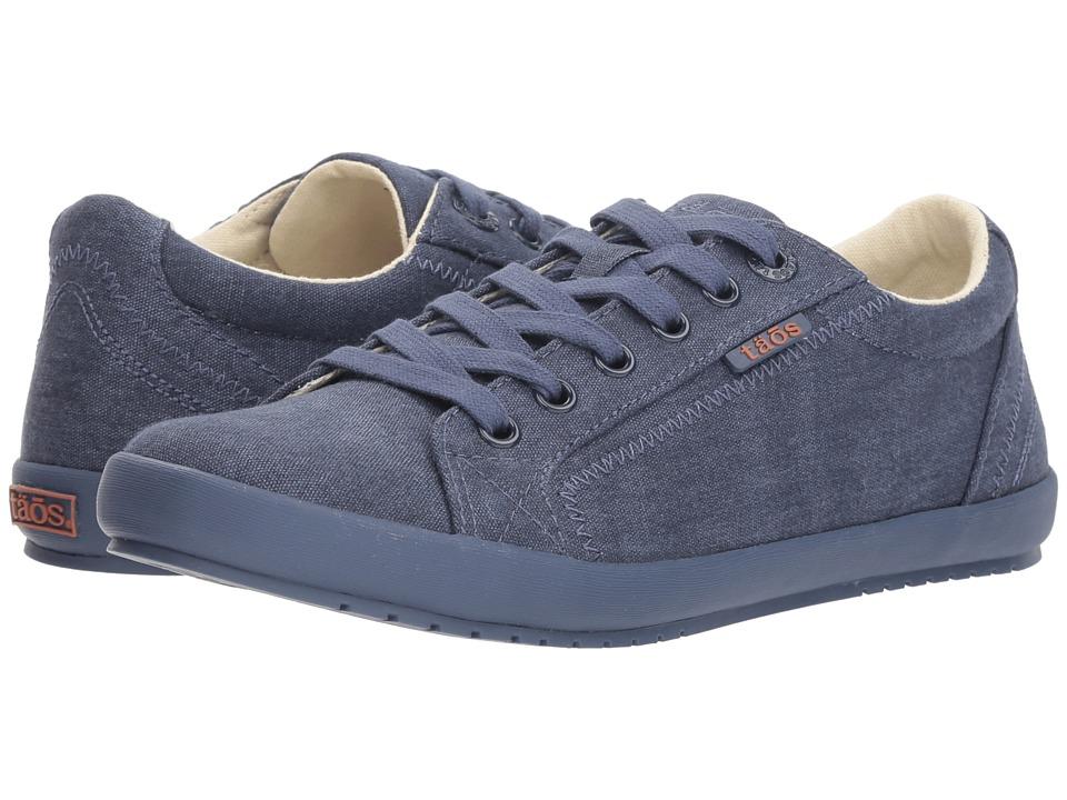 Taos Footwear Star (Blue/Blue Tone on Tone Solid Canvas)