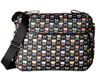 Fendi Kids Monster Print Diaper Bag