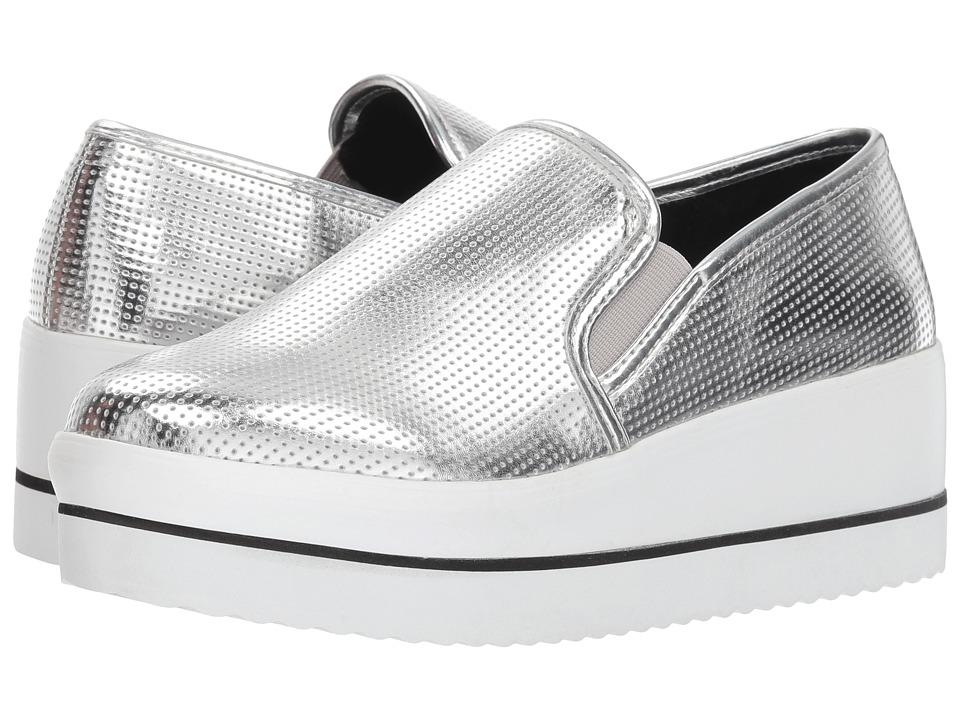 Steve Madden Becca (Silver) Women's Shoes