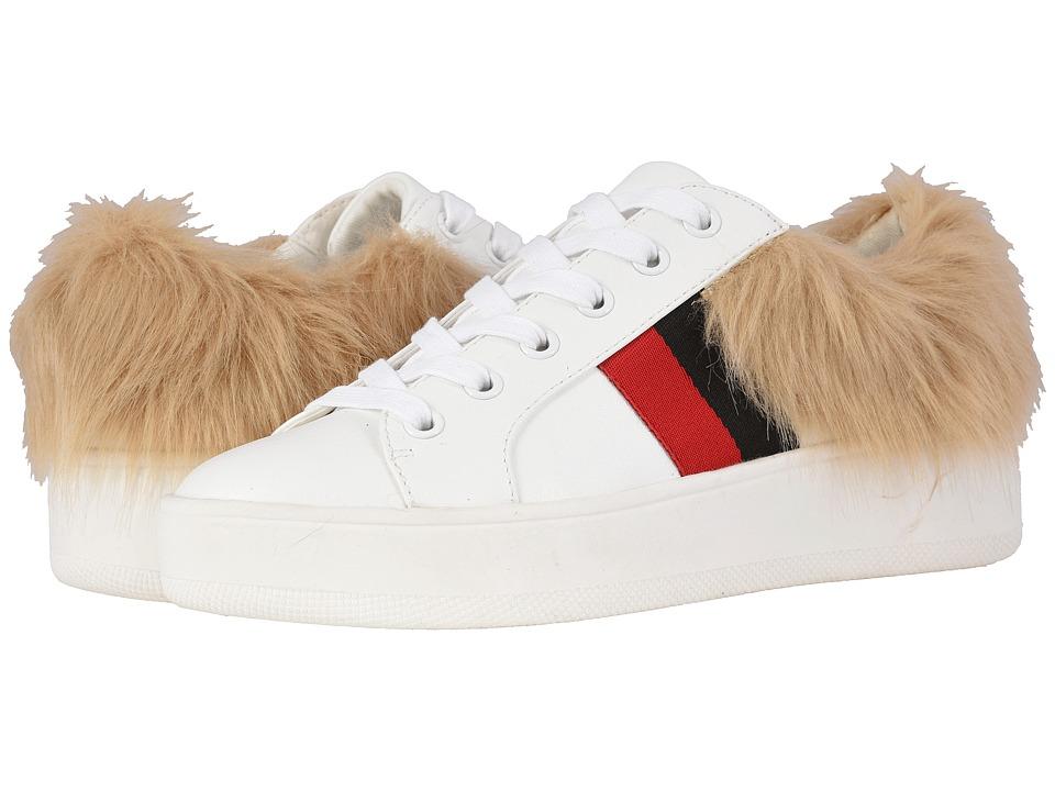 Steve Madden Belle-F (White Multi) Women's Shoes