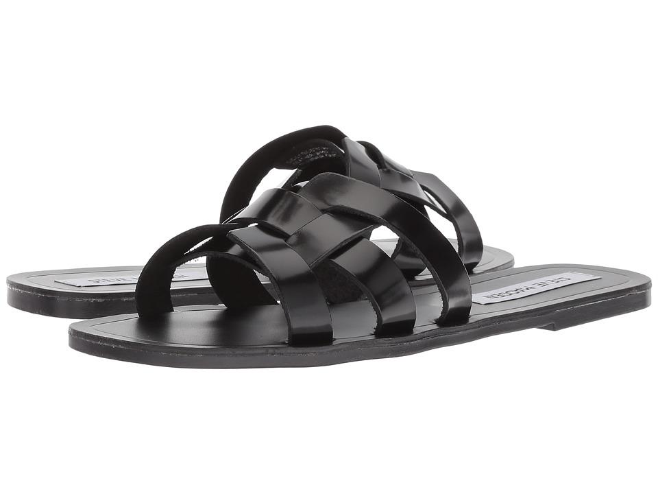 Steve Madden Sicily (Black Leather) Women's Shoes
