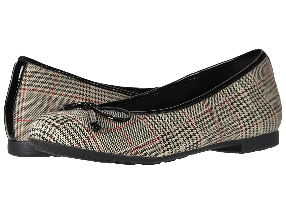 Earth Alina (Beige/Multi Textile) Women's Shoes