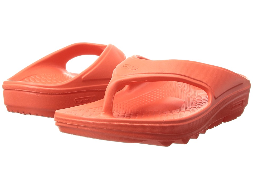 Spenco - Fusion II (Hot Coral) Womens Sandals