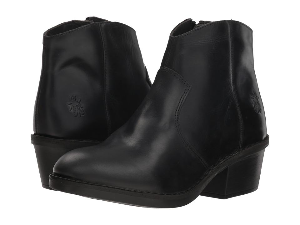 FLY LONDON DARI970FLY (Black Rug) Women's Shoes