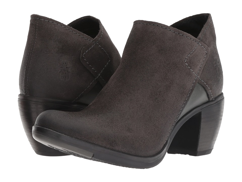 FLY LONDON HACE314FLY (Diesel Oil Suede/Rug) Women's Shoes