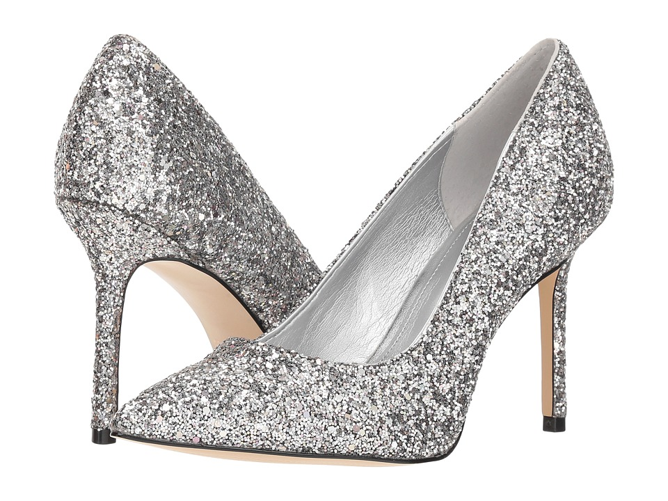 Katy Perry The Sissy (Silver Chunky Glitter) Women's Shoes