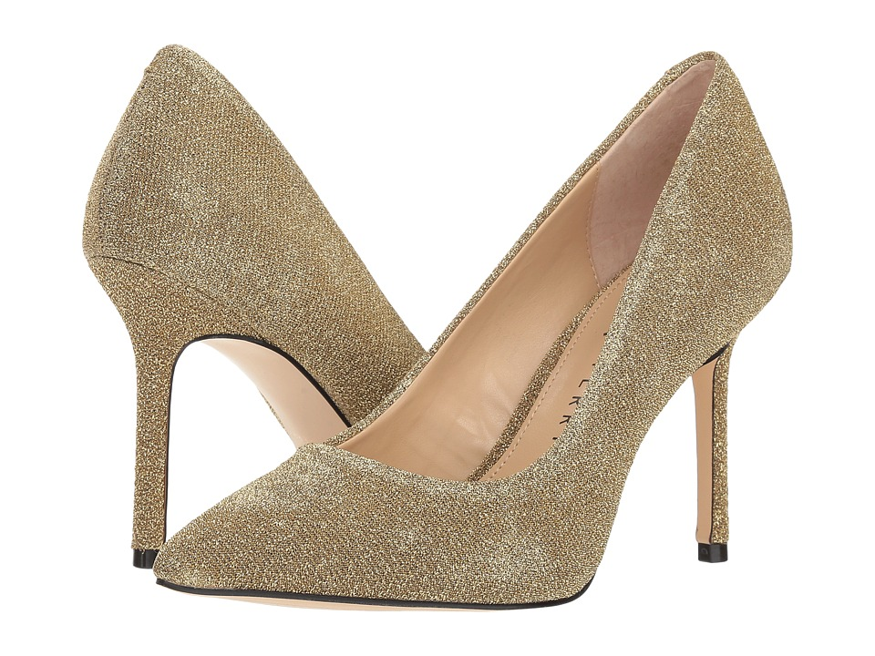 Katy Perry The Sissy (Gold Sparkle Sweater) Women's Shoes