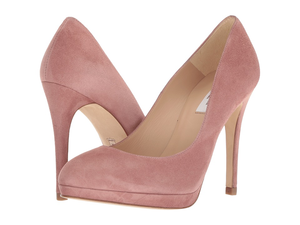 L.K. Bennett Sledge New Suede (Dark Bardon Pink Suede) Women