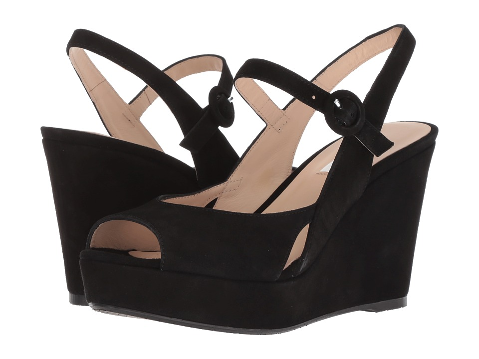 L.K. Bennett Raisa (Black Suede) Women