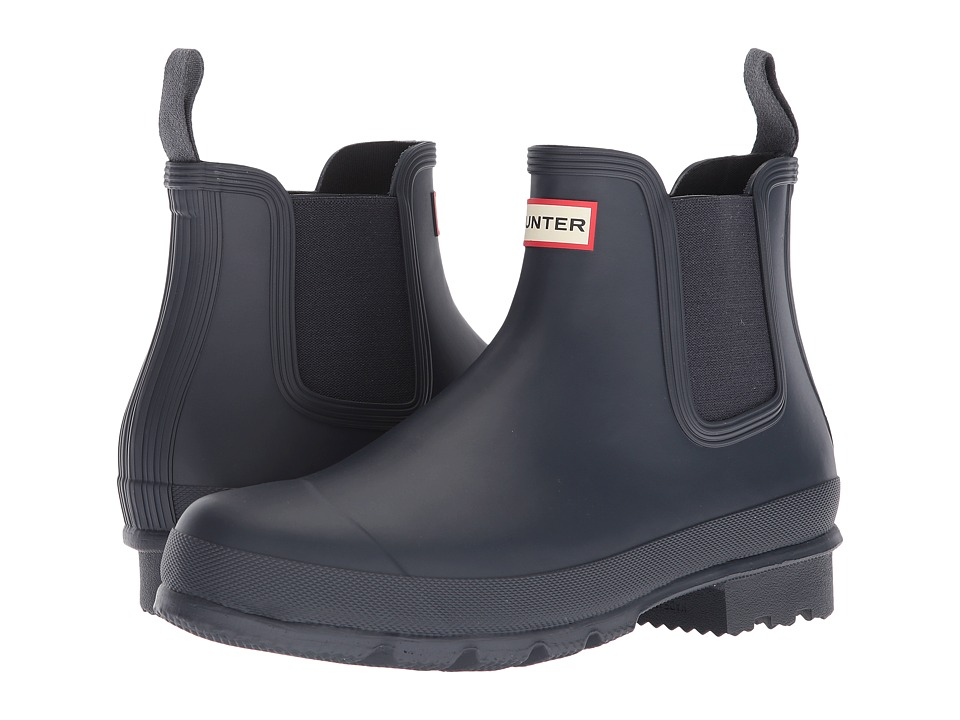 Hunter - Original Chelsea Boot (Navy) Mens Boots