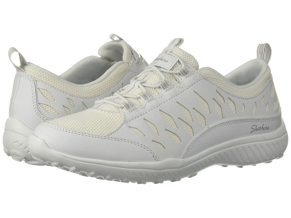 SKECHERS - Be-Light - My Honor (White) Womens Lace up casual Shoes