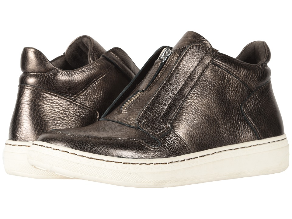 Earth Zane (Platinum Santos Medium Tipping Metallic Leather) Women's Shoes