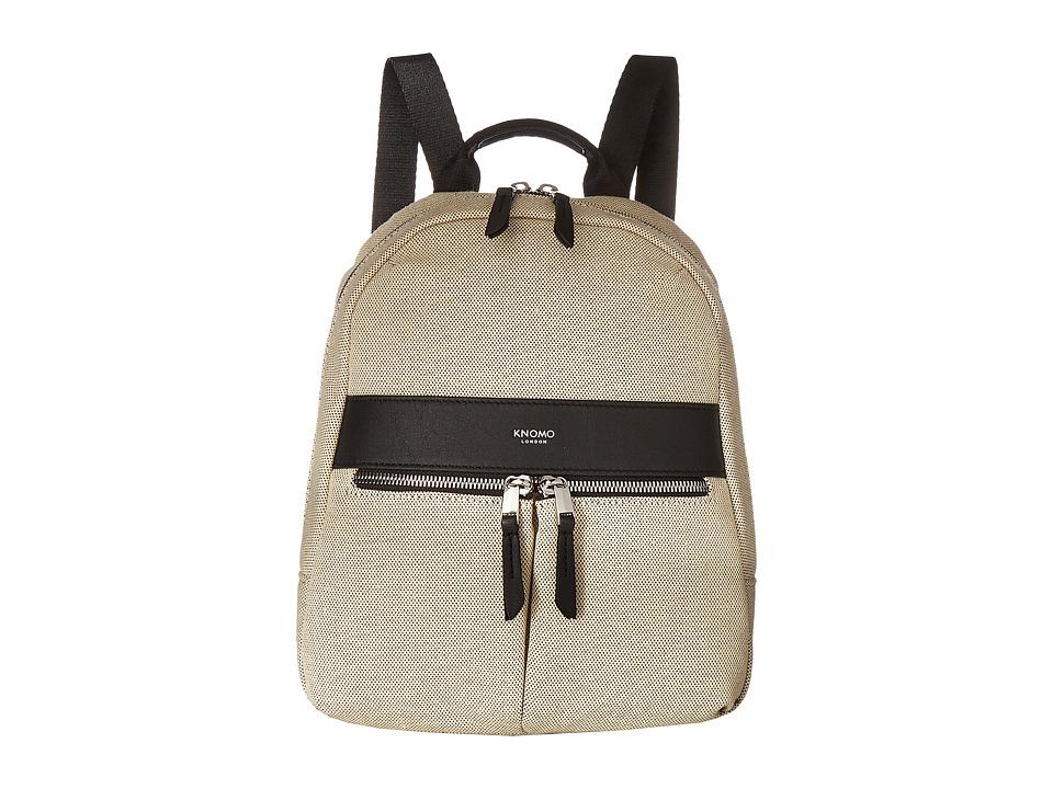 KNOMO London - Mayfair Mini Beauchamp Backpack (Navy Canvas) Backpack Bags