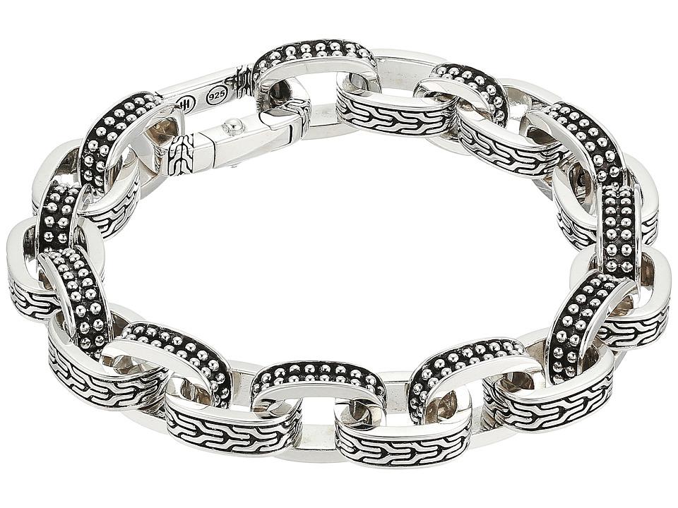 John Hardy - Classic Chain Jawan Link Bracelet (Silver) Bracelet