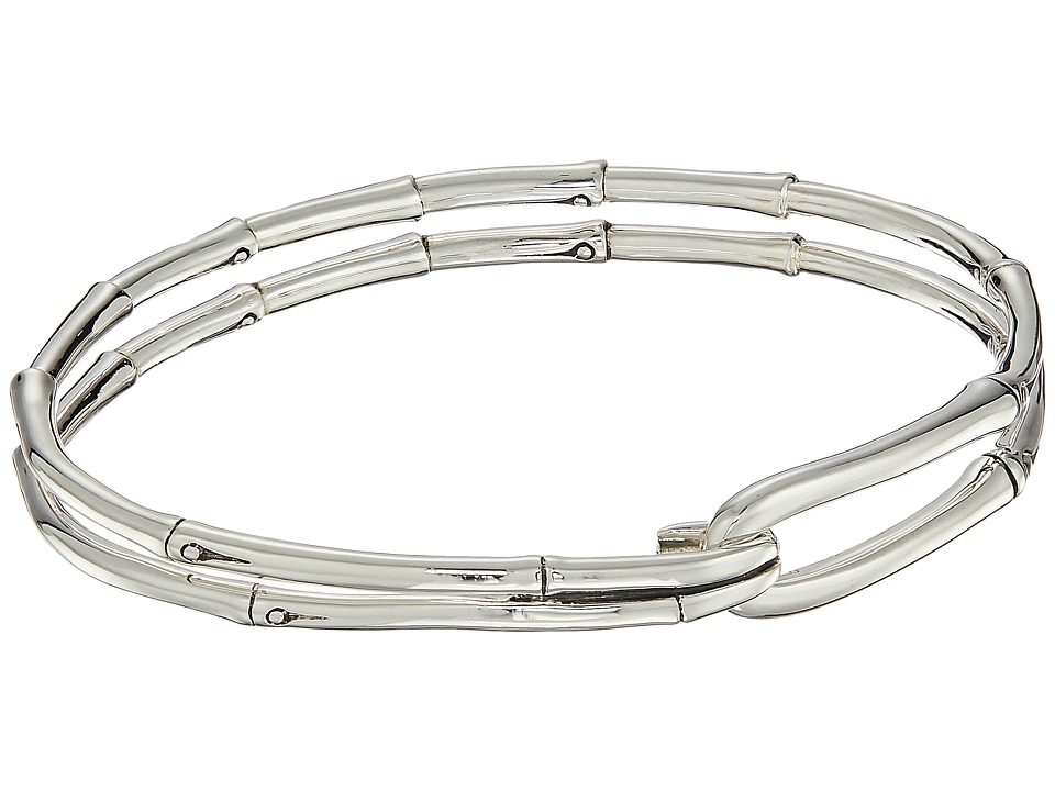 John Hardy - Bamboo Hook Bangle (Silver) Bracelet