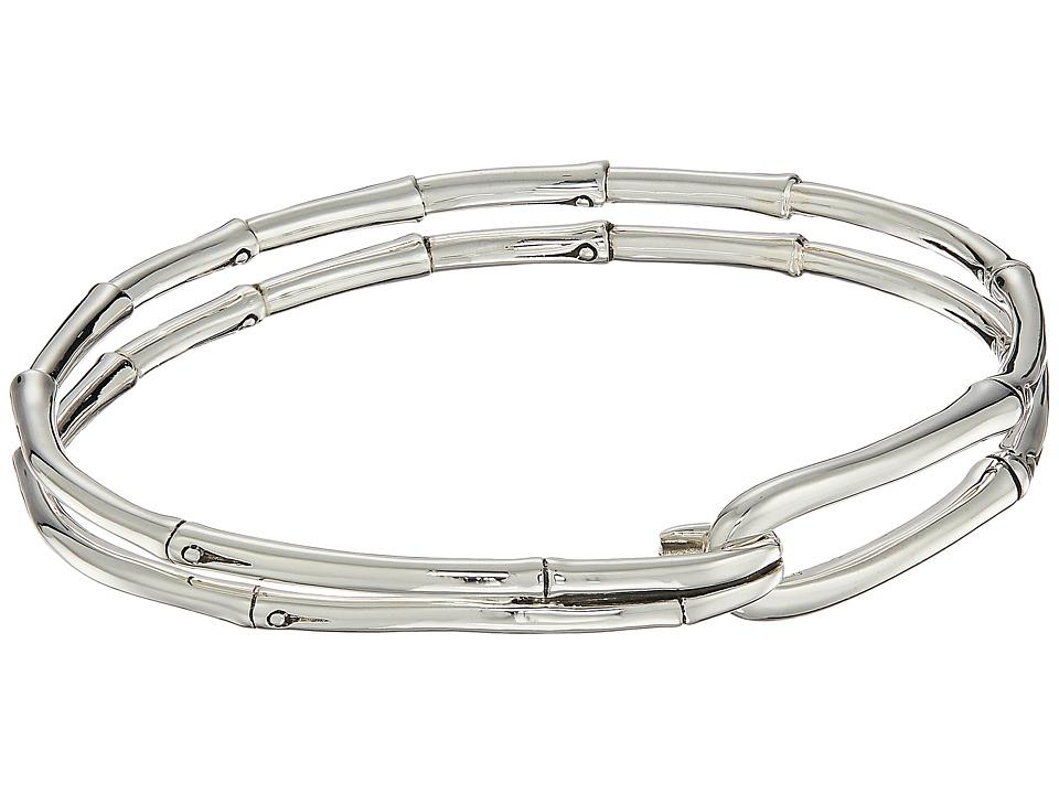 John Hardy - Bamboo Hook Bangle (Silver) Bracelet