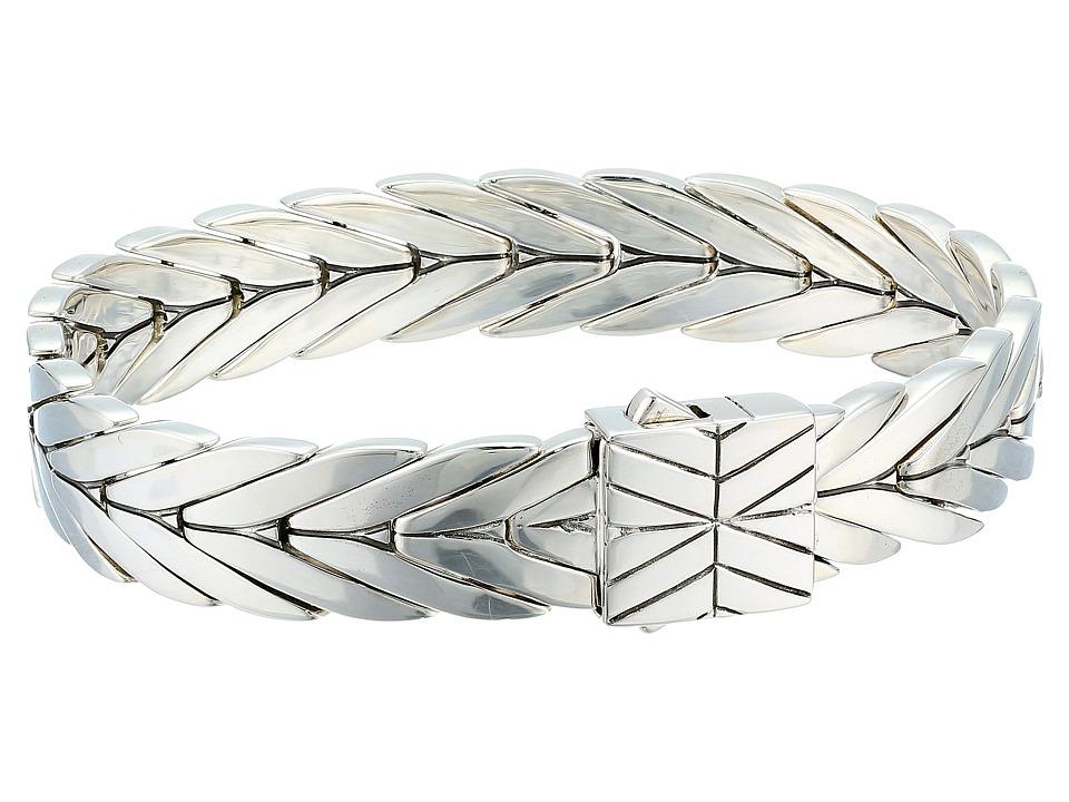 John Hardy - Modern Chain 11mm Bracelet (Silver) Bracelet