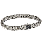 John Hardy Classic Chain 7.5mm Bracelet with Black Sapphire
