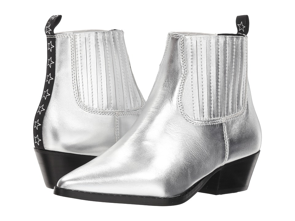 Steve Madden Westie (Silver Leather) Women's Shoes