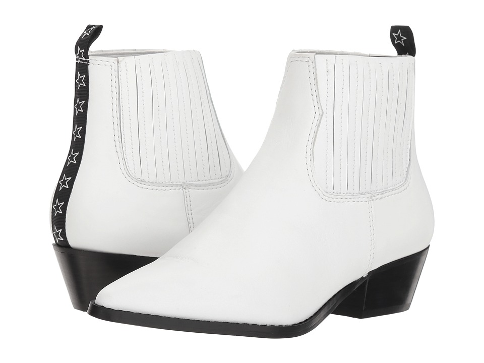 Steve Madden Westie (White Leather) Women's Shoes
