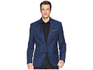 Kenneth Cole Reaction Blue Brocade Evening Jacket
